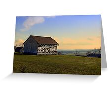 Traditional storage in autumn scenery | architectural photography Greeting Card