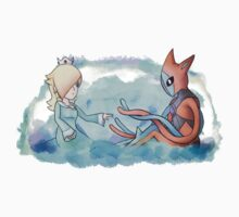 Rosalina and Deoxys by FlareND