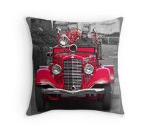 Alcatraz Fire Truck Throw Pillow