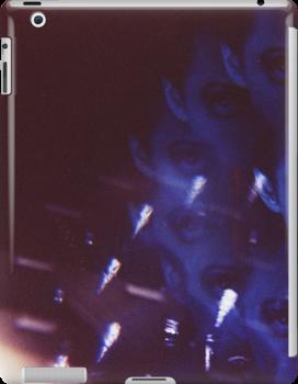 Swirls in Dark - analog 35mm color film photo by edwardolive