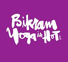 Bikram Yoga is Hot : Purple by finnllow