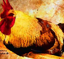 Fancy Chickens: Beauty Sleep by Bunny Clarke