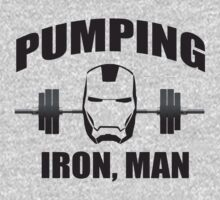 Pumping Iron... by onyxdesigns