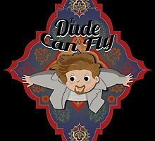 The Dude Can Fly by drpsychoswanner