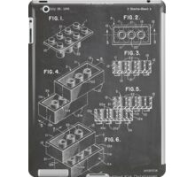 LEGO Construction Toy Blocks US Patent Art blackboard iPad Case/Skin