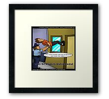 Breaking The Laws Of Physics  Framed Print