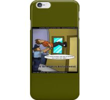 Breaking The Laws Of Physics  iPhone Case/Skin