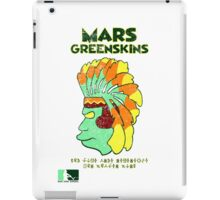 Blernsball Warrior (Futurama/MLB/NFL parody) iPad Case/Skin