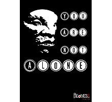 Face of BOE: You are not alone Photographic Print