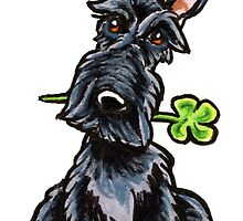 Lucky Scottie by offleashart