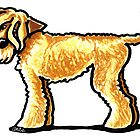 Soft Coated Wheaten Terrier by offleashart