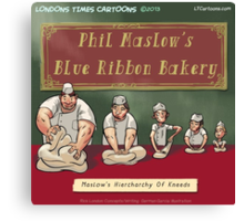Maslow's Hierarchy Of Baking Kneeds  Canvas Print