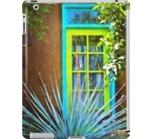 Blue/Green Window iPad Case/Skin