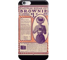 Old School Retro Victorian Camera Ad Poster Pillows Cases Stickers iPhone Case/Skin