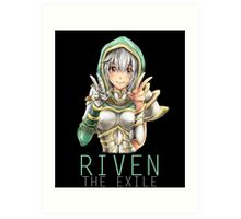 Kawaii Redeemed Riven Art Print