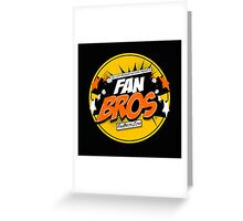 FanBros Full Logo Greeting Card
