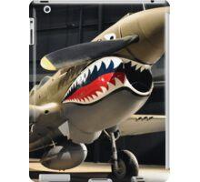 Tiger Shark Airplane WWII  iPad Case/Skin