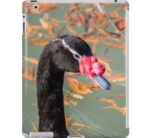 7214 black headed goose iPad Case/Skin