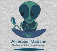 Alien Zen Master by Tom Godfrey