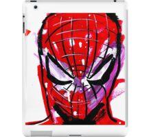 Spiderman splash iPad Case/Skin