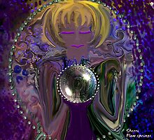 GYSPY AND HER CRYSTAL BALL by Sherri     Nicholas