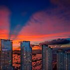 Hong Kong Union Square Sunset  by MichaelKe