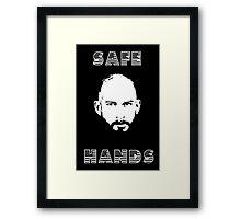 Tim Howard Safe Hands Framed Print