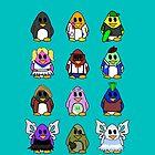 All Penguins by Mollie Barbé