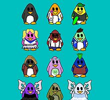 All Penguins by Mollie Barbé