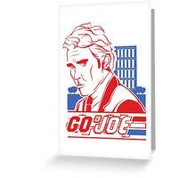 Go Joe (Macmillan) T-Shirt Greeting Card