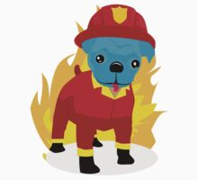 Pugsy I'm a firedog by puppzies