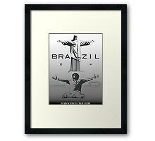 2014 Brazil World Cup Framed Print