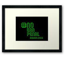 #NoEraPenal - No era penal Framed Print