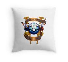 Hoenn Region Crest Throw Pillow