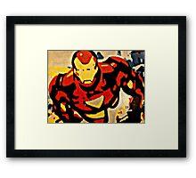 Iron Man in Flight Framed Print