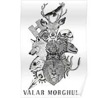 Valar Morghulis (Game of Thrones) Poster