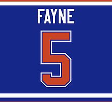 Edmonton Oilers Mark Fayne Jersey Back Phone Case by Russ Jericho