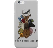 Valar Morghulis (Game of Thrones) iPhone Case/Skin