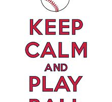 Keep Calm and Play Ball - St. Louis by canossagraphics