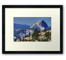 Half Dome from Olmsted Pt. Framed Print