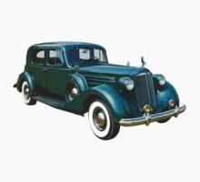 Green Packard Luxury Car Kids Clothes