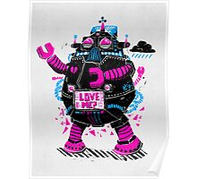 Robots Need Love, Too! Poster