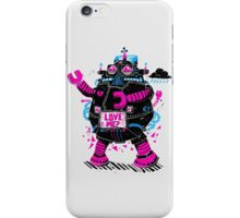 Robots Need Love, Too! iPhone Case/Skin