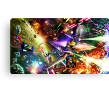 The Starfox Universe: In Flux Canvas Print