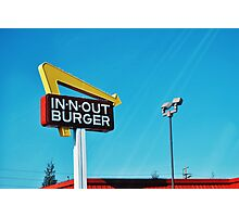 In n Out Photographic Print