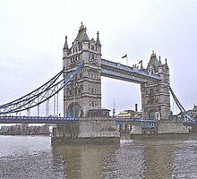 Tower Bridge, London, UK by Allen Lucas