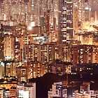 Hong Kong City Density by MichaelKe