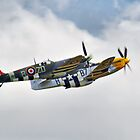 Ferocious Frankie, And MH434 - Duxford 2014 by Colin J Williams Photography