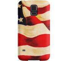 Waving US Flag Samsung Galaxy Case/Skin