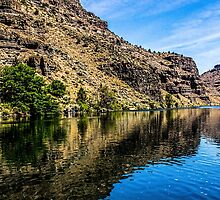 Lake Billy Chinook by Richard Bozarth